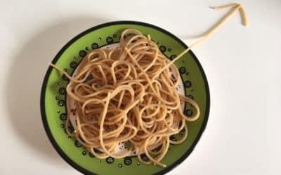 Van spaghetti naar actie